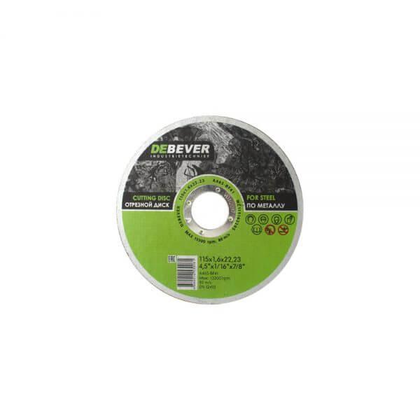 отрвезные диски Debever 115x16