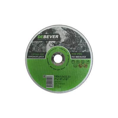 отрезной диск по металлу 180 мм Debever для резки
