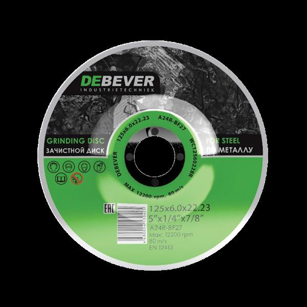 Зачистные диски по металлу d180 Debever