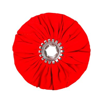 Х/Б круг жесткий D 150 мм красного цвета